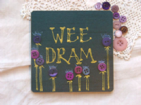 Adornment - Scottish Coaster - Wee Dram